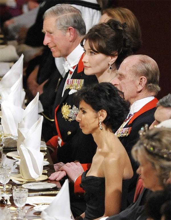 Banchetto reale al Castello di Windsor