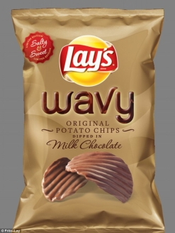 lay's wavy chocolate